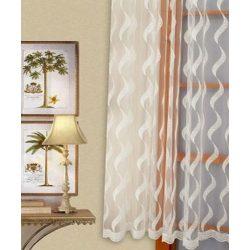 Hullámos mintás csipkefüggöny, 180cm, 220cm, 260cm magasságban rendelhető