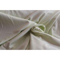 Halványzöld pamutanyag