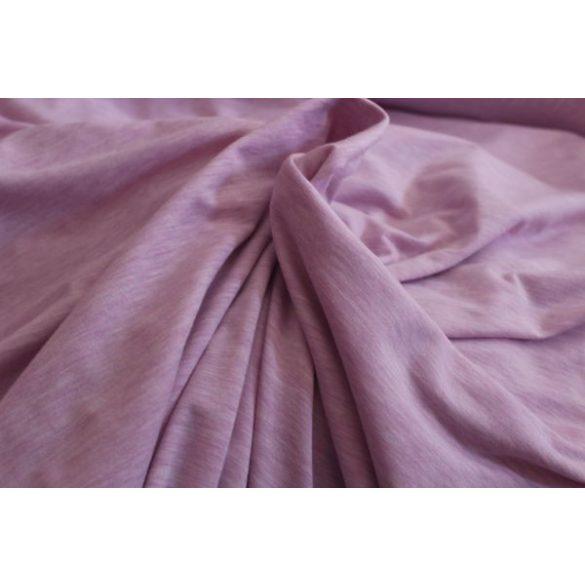 Rózsaszínű vékony rugalmas pamutanyag