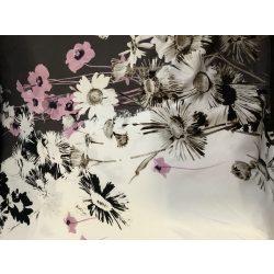Virágmintás rugalmas anyag(egy minta 120 cm)