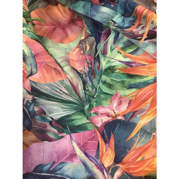 Dzsungel mintás dekorvászon
